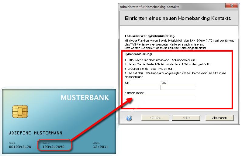 Kartennummer Maestro Deutsche Bank