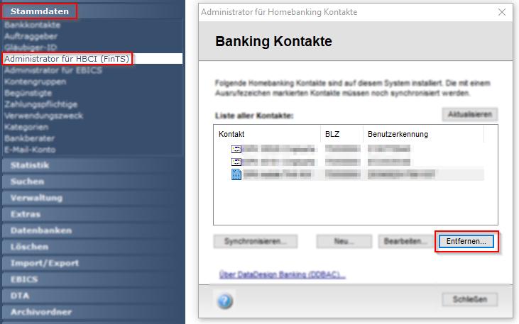 Postbank ID - Änderung der neuen PIN/TAN Zugangsdaten in windata
